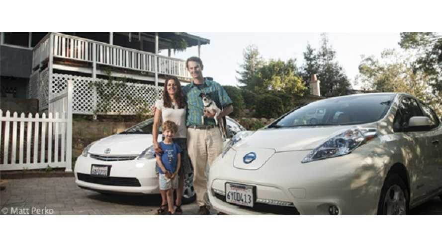 Story Of One Man Saving $245/Month By Combining EV And Solar For His Commute