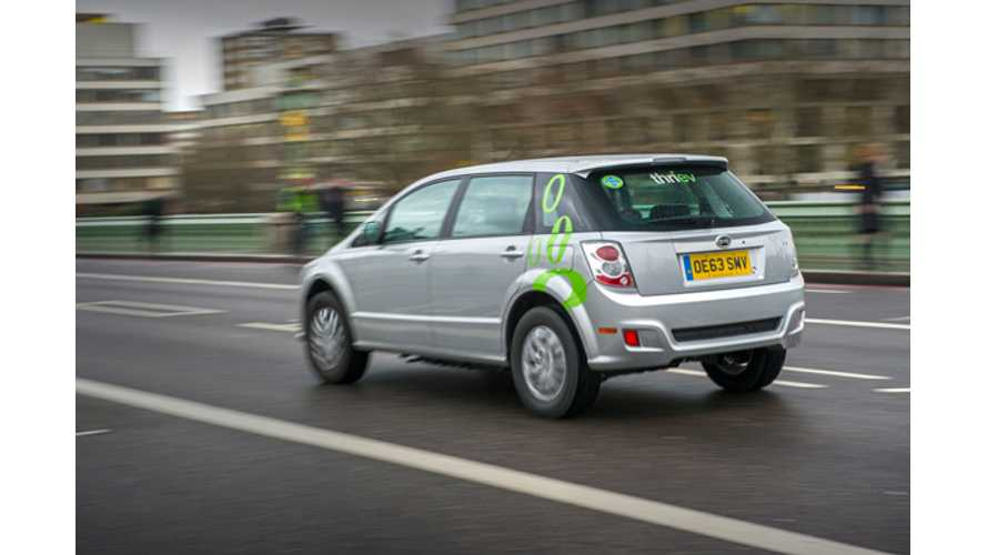 First 10 Electric BYD Private Hire Cars Launched in London