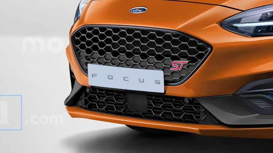 Ford Focus ST, il rendering