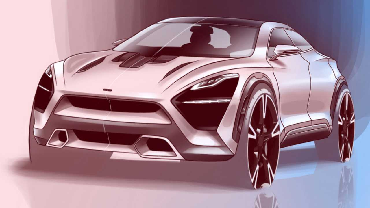 McLaren SUV Fan Rendering