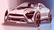 McLaren SUV Fan Rendering