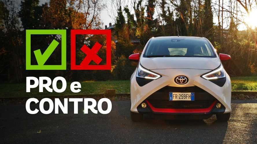 Toyota Aygo 1.0 VVT-i x-play, pro e contro