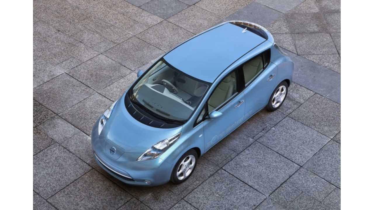 Plug-In Sales For Canada:  Nissan LEAF Up 86% Over Last Year, Chevy Volt Off Slightly