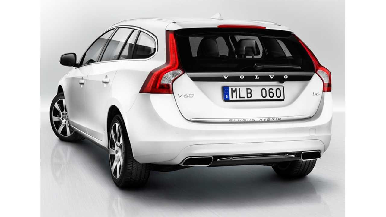 Volvo Confirms 2014 US Re-Launch of V60; We Present a 2014 Volvo V60 Plug-In Hybrid First Drive Review