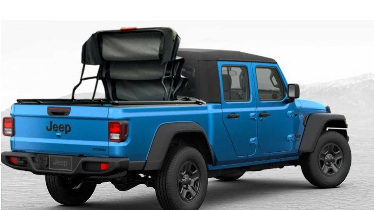 2020 Jeep Gladiator Rendered With All Sorts Of Bed Toppers