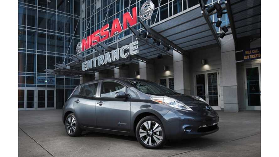 Nissan LEAF Tops Kelley Blue Book's