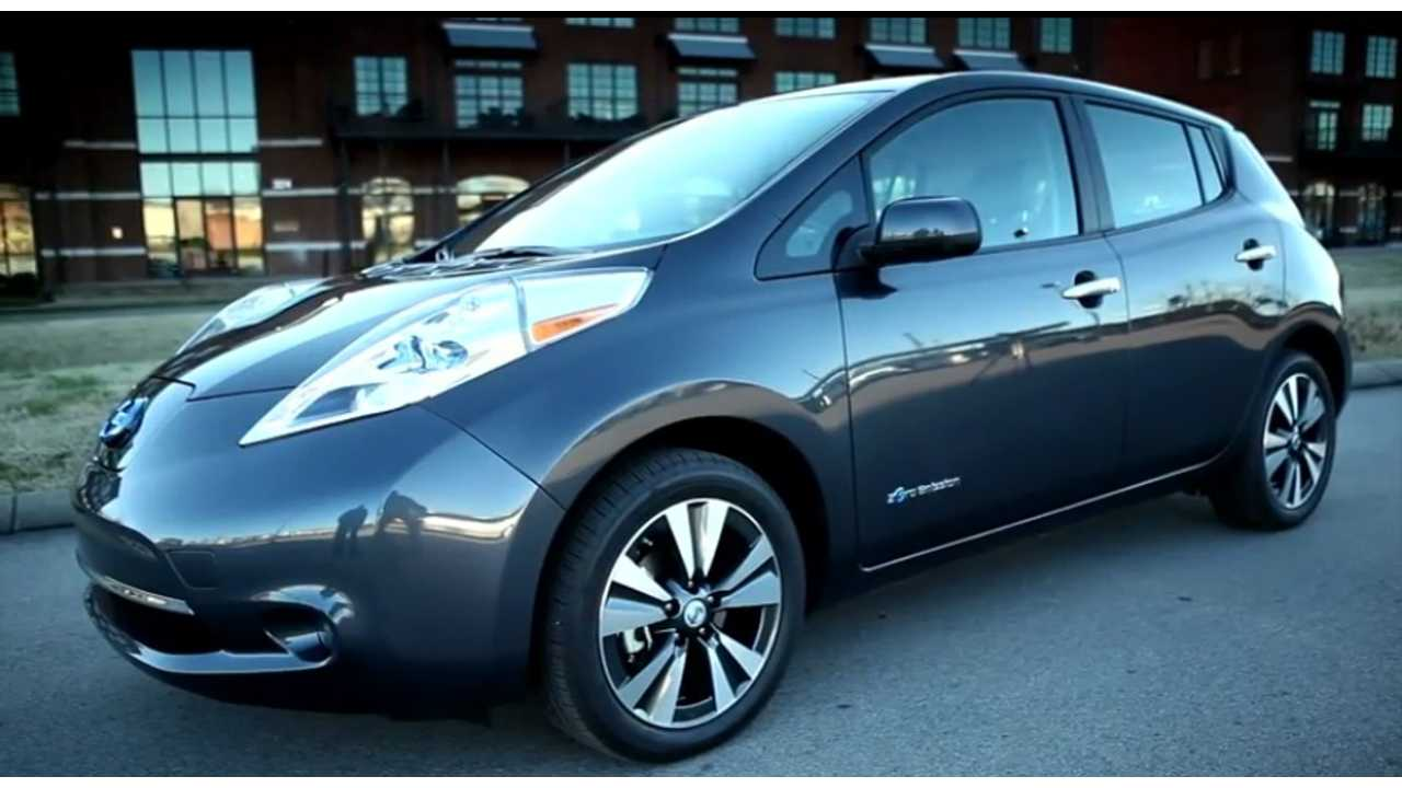 2013 Nissan LEAF Rated At 75 Miles.  But 84 Miles Using The Outgoing 2012 EPA Ratings System