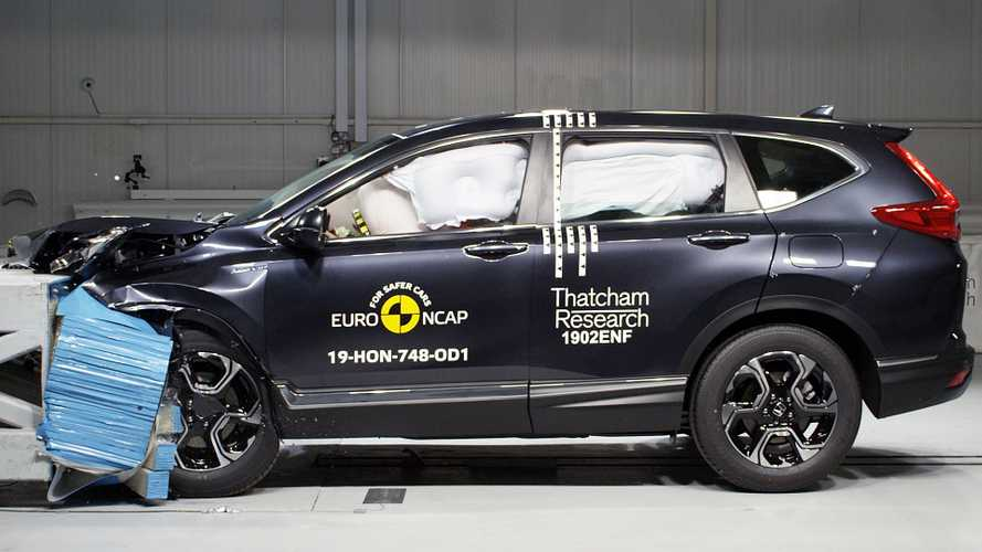 2019 Honda CR-V, Euro NCAP crash test