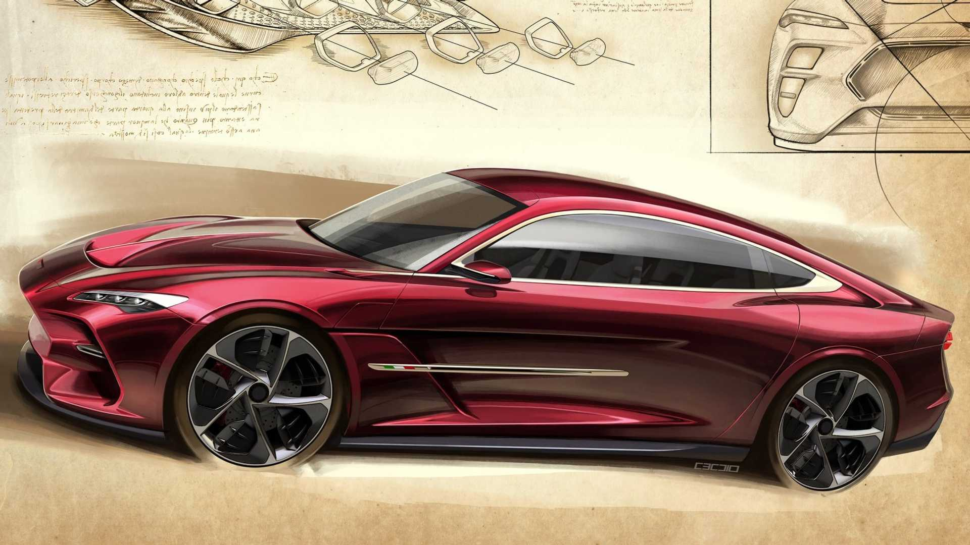 Italdesign Reveals Stunning Coupe Ahead Of Geneva Premiere