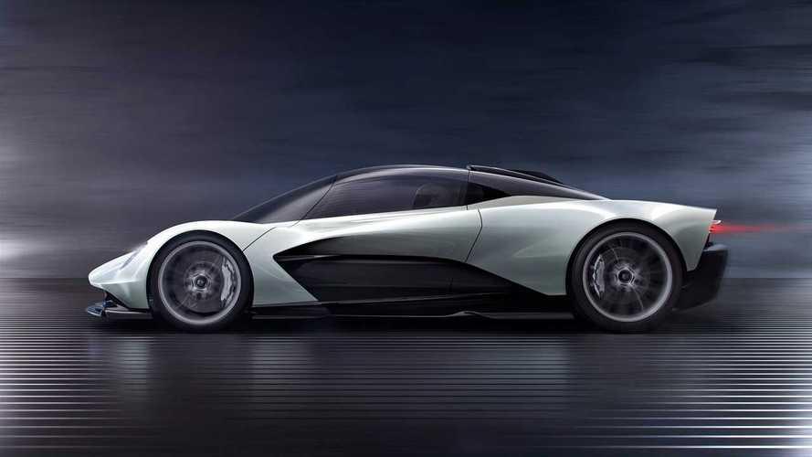 Aston Martin Valhalla reportedly delivered to Bond 25 movie set