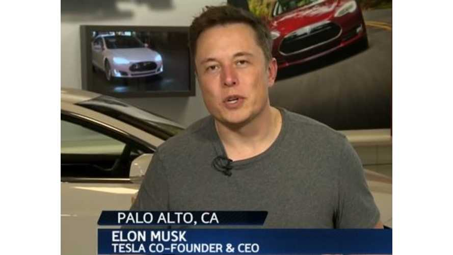 Tesla CEO Elon Musk Expects NHTSA to Clear Model S in Fires - Tesla Is Not Working on a Model S Safety Fix