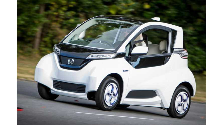 Honda to Display Autonomous Version of Electric Micro Commuter at 2013 Tokyo Motor Show