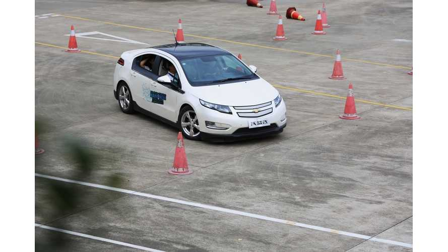 General Motors Hosts Series of Electrification Workshops in China; Displays 4 Electrified Vehicles