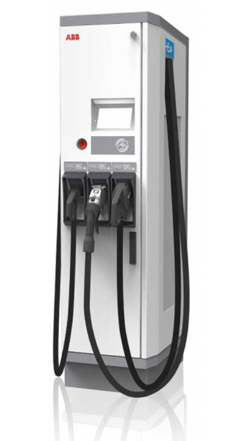 ABB Launches 4th Generation Terra 23; This One Supports CHAdeMO, CCS and Fast AC