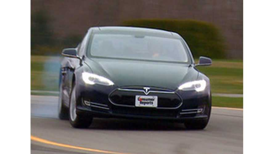 Tesla Model S Tops Consumer Reports Customer Satisfaction Survey by Scoring 99 Out of 100 Points (w/video)