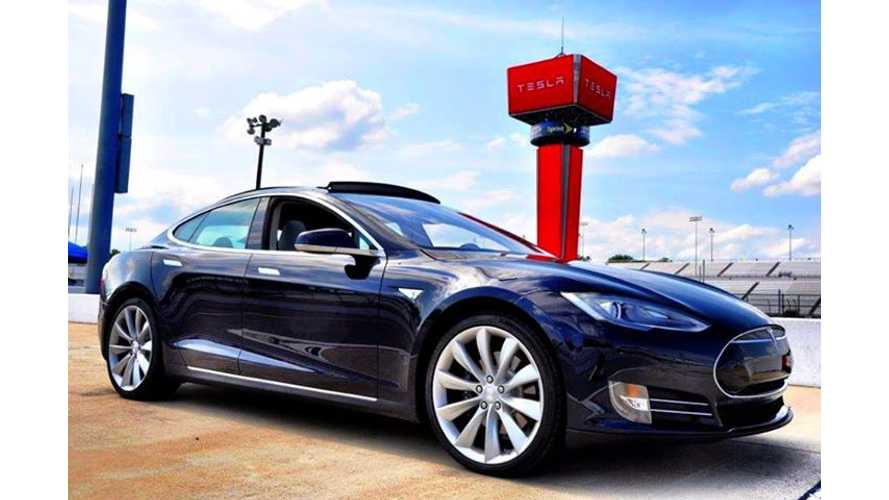 Videos: In Push to Convince Virginia to Allow Direct Sales, Tesla Hosts Model S Event at Richmond International Raceway