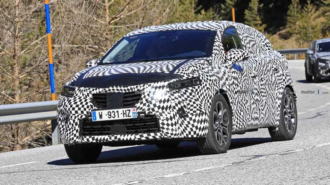 Renault Captur 2020 photo espion