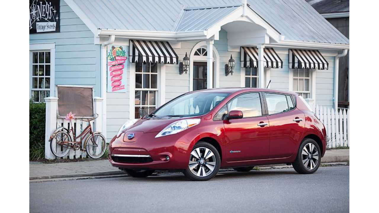 Nissan Adds LEAF to Certified Pre-Owned Vehicle Program