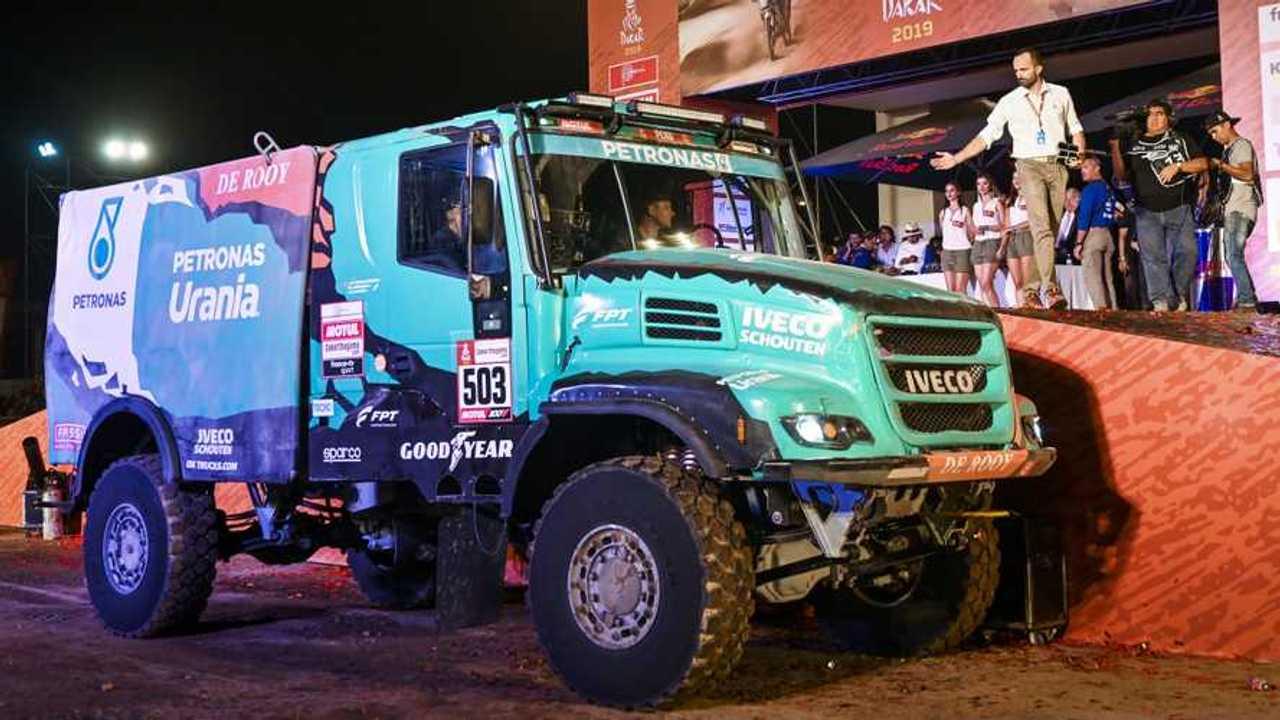 Dakar 2019, Iveco al terzo posto