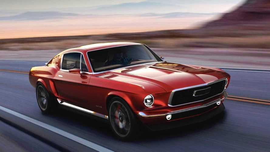 Empresa russa planeja Mustang elétrico inspirado na geração de 1967