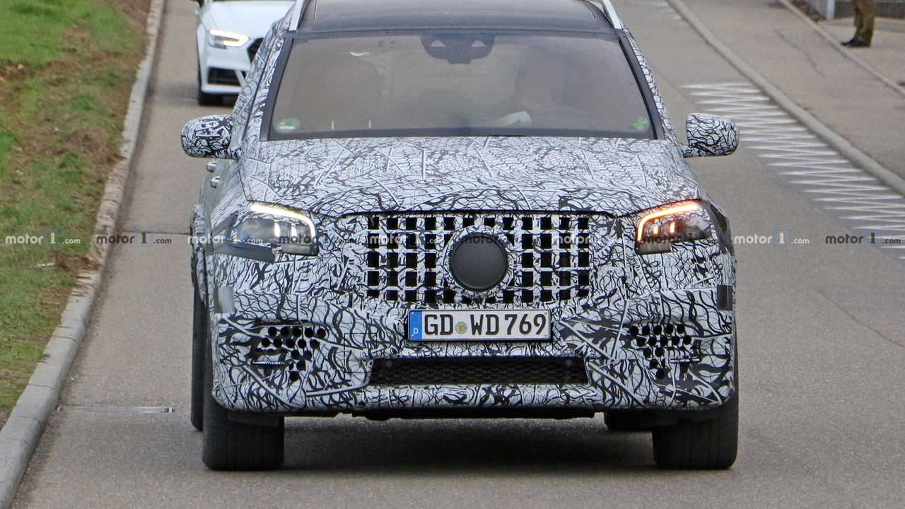 2021 Mercedes-AMG GLS 63 New Spy Photos Available >> 2021 Mercedes Amg Gls 63 Spy With Large And Charged Shilfa