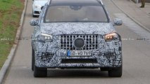 2020 Mercedes-AMG GLS 63 Spy Photos