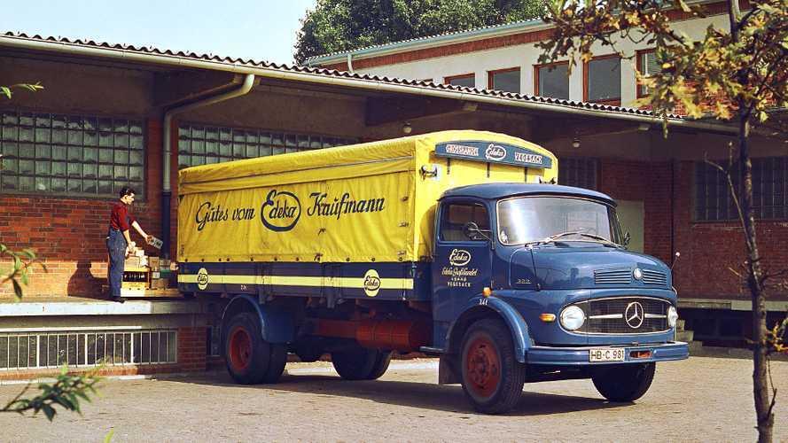 Lastwagen-Legende: 60 Jahre Mercedes Kurzhauber