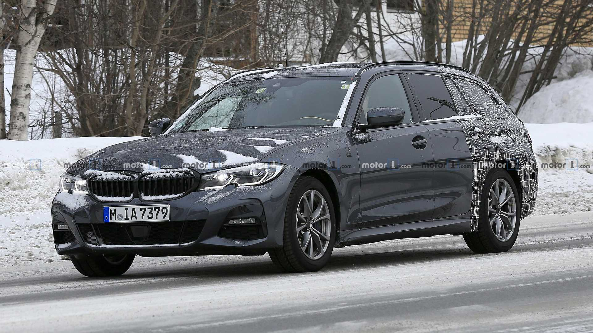 New Bmw 3 Series Touring Wagons Its Tail During Final Testing