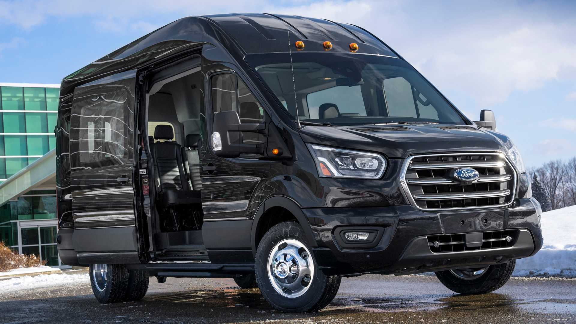 Ford Transit Van >> 2020 Ford Transit Gets New Safety Tech Available All Wheel Drive