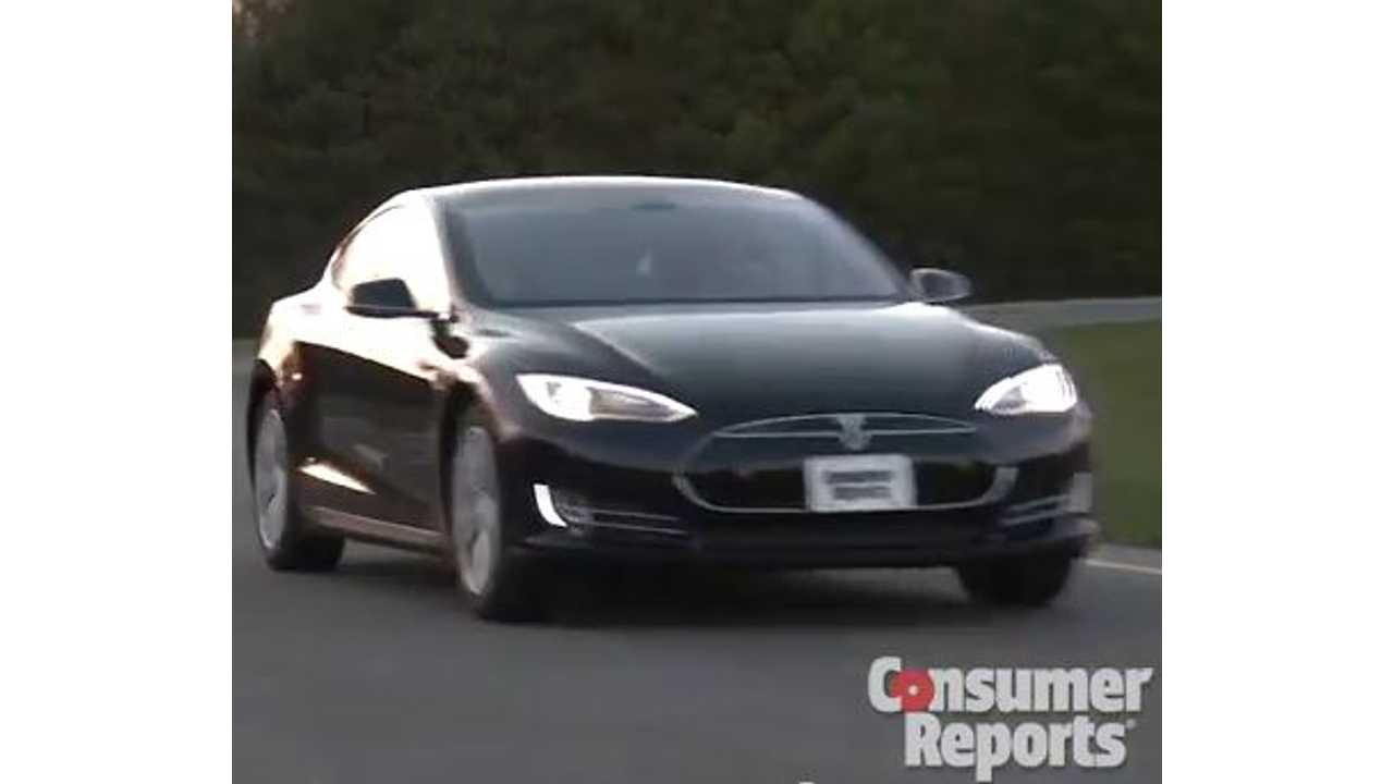 Video: Consumer Reports Details Its Top Picks of 2014 - Tesla Model S