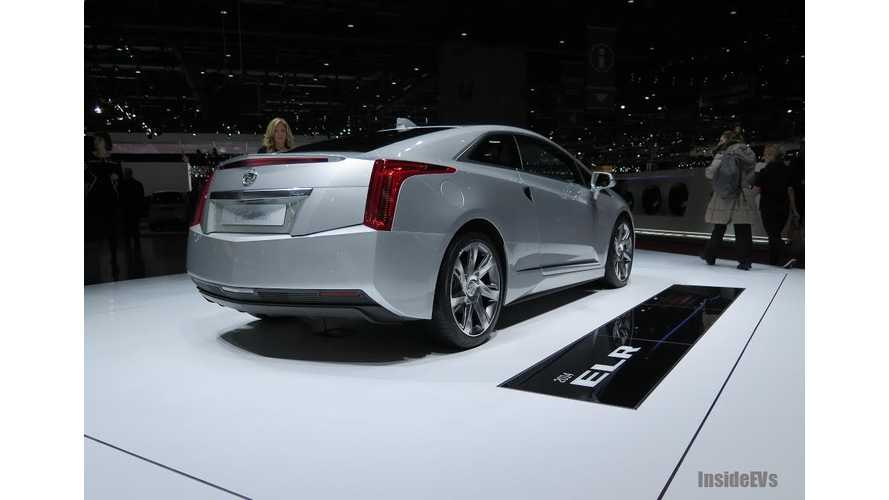 Look Who Isn't Afraid To Show Itself In Europe - The Cadillac ELR!