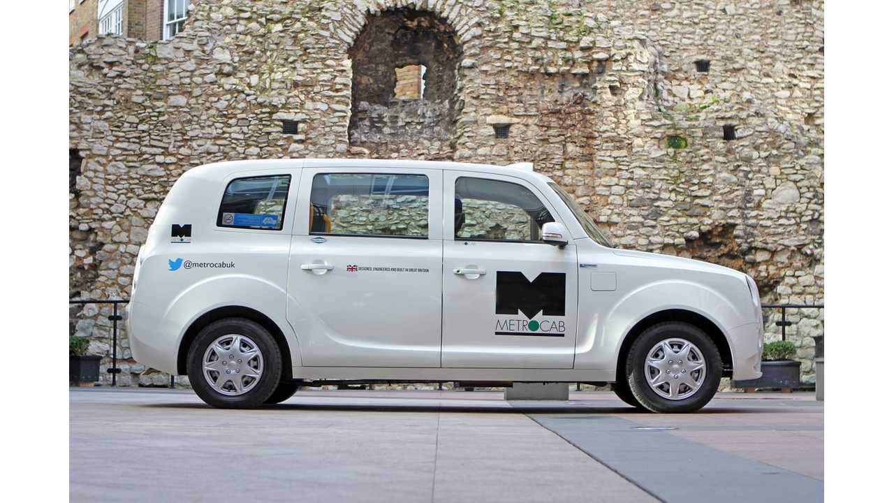 Frazer-Nash and Ecotive Confirm Specification Details And Launch Trials For Electric Metrocab (w/video)