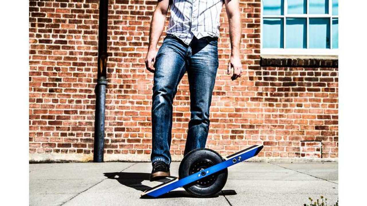 Onewheel Self-Balancing Electric Skateboard! (w/video)