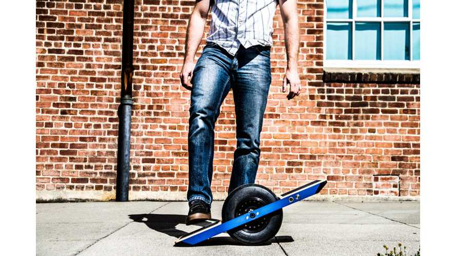 Onewheel Self-Balancing Electric Skateboard! (w/video)