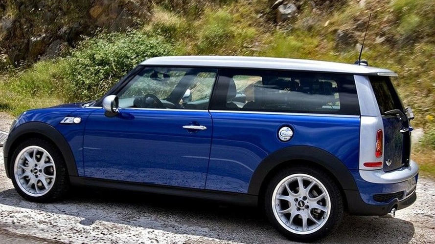 MINI Clubman S Caught During Photoshoot