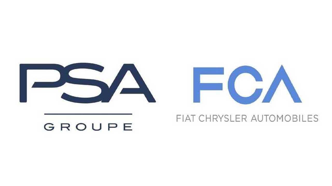 Logos von PSA und FCA