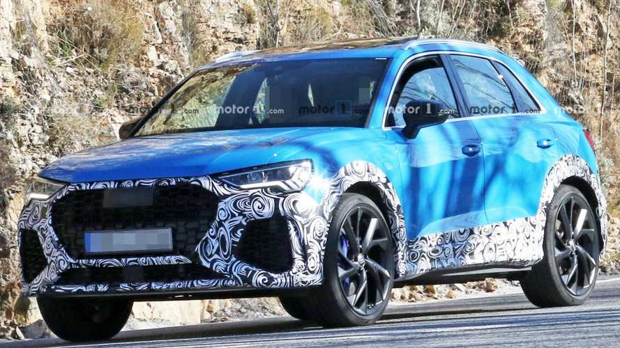 New Audi RS Q3 spied putting five-cylinder engine to work