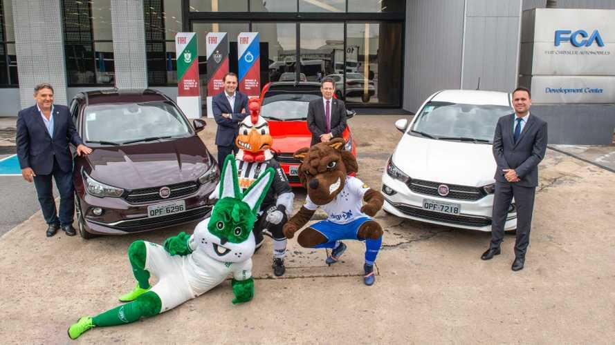 Fiat volta a patrocinar times América, Atlético e Cruzeiro