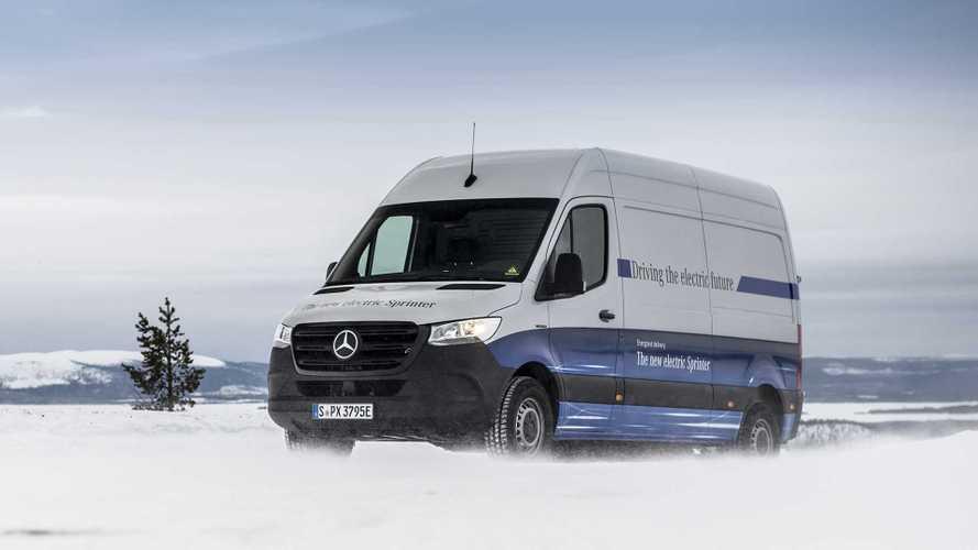 Mercedes eSprinter passa l'esame invernale