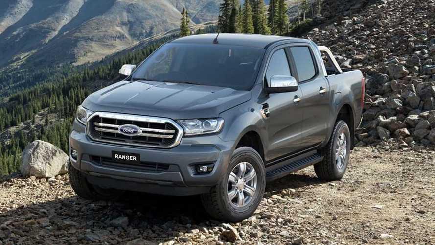 Segredo: Ford registra nova Ranger 2020 no Brasil