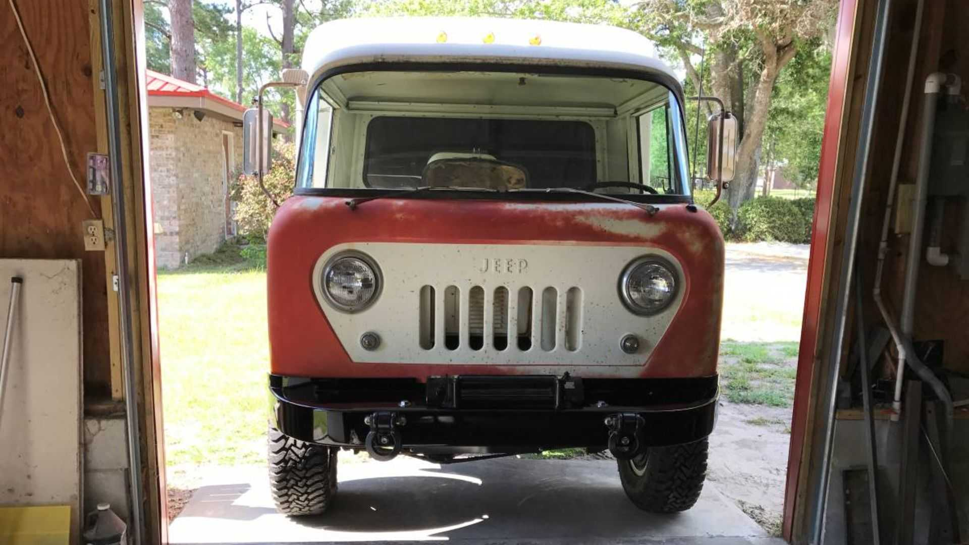 Jeep Forward Control Custom Vintage Camper Is Beyond Cool