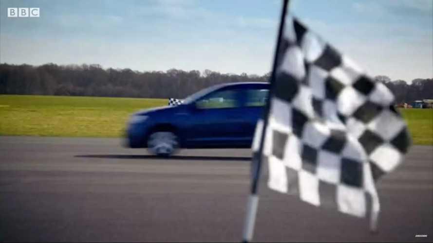 Top Gear Sunucuları Ellerini Kullanmadan Drag Yarışı Yapmış
