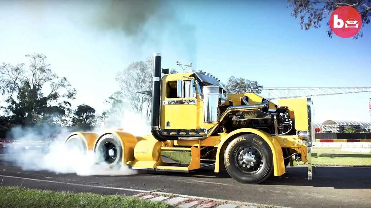 オーストラリアのバーンアウトトラック
