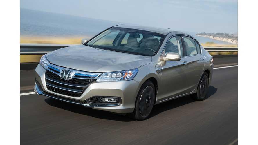 Honda Accord Plug-in Hybrid Test Drive