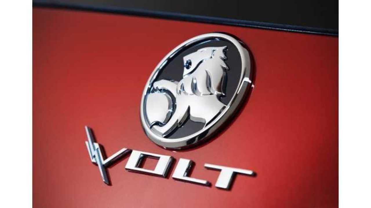 Holden Volt Goes On Sale November 1st In Australia, $59,990 AUD ($62K US)