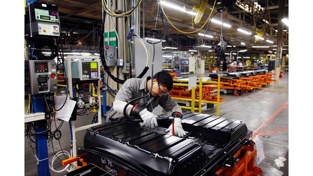 Nissan Battery Workers