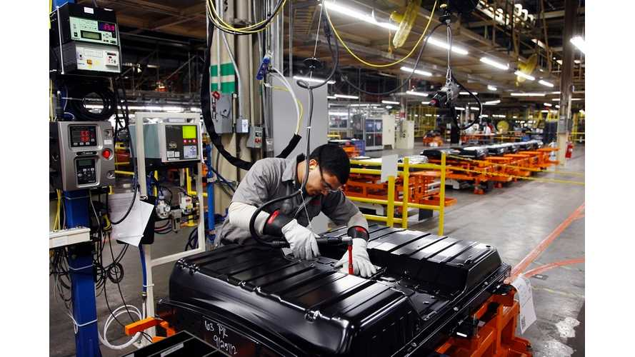 Nissan Officially Launches Battery Plant In Tennessee (Video)