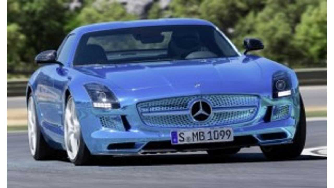 SLS AMG Does A Few Quick Laps In Spain