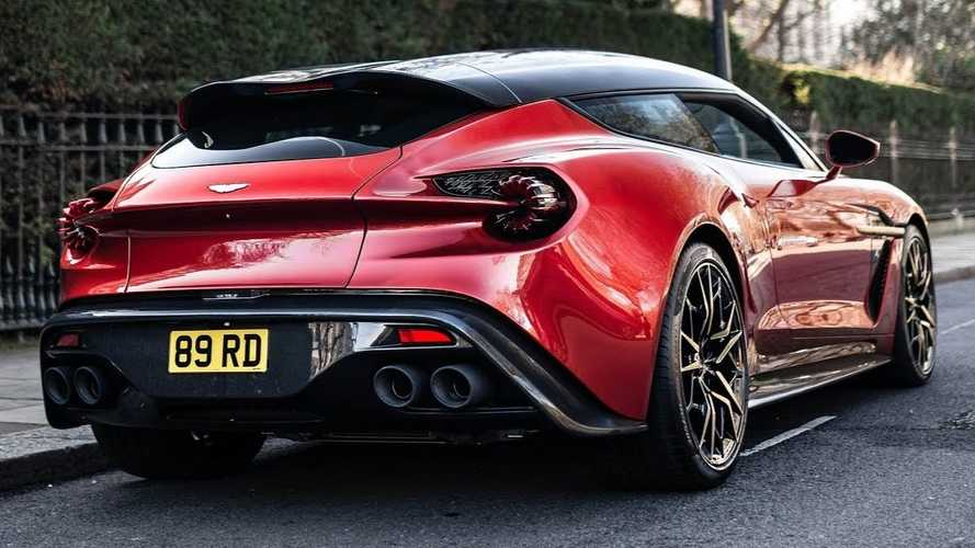 Vanquish Zagato Shooting Brake is stunning in real life