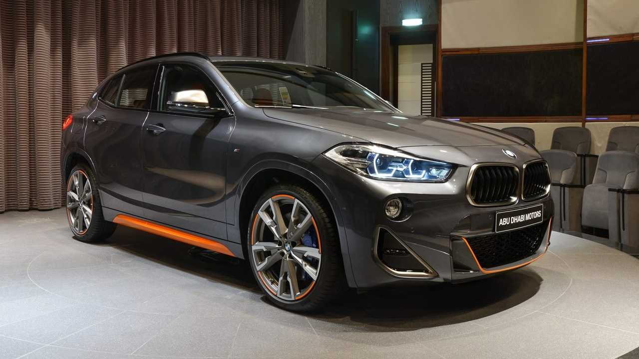 BMW X2 M35i at BMW Abu Dhabi Motors